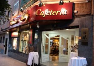 Cafeteria y Salones de la Calle Libertad de Alcobendas